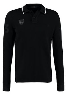 CUSTOM FIT - Polo - polo black