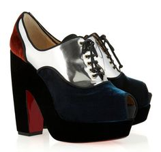 Christian Louboutin on Pinterest | Denim Heels, 20th Anniversary ...