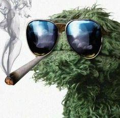 Oscar smoking weed