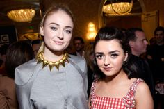 BFF Dream Team Maisie Williams and Sophie Turner Just Took a Big Step in Their Relationship