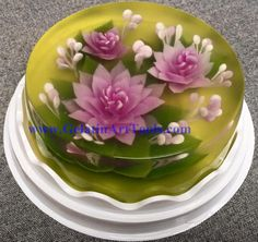 3d Cake Decorating Download : 3 D jelly art on Pinterest Art Flowers, 3d and 3d Cakes