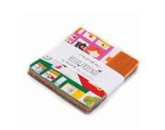 """Moda Hello Friend 5"""" Charm Pack Cotton Fabric 42 in Pack - Edit Listing - Etsy"""
