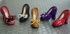 Zapatos de Cerámica Miniatura