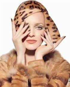 Stephen Jones Millinery for Dior. by mari Animal Print Fashion, Animal Prints, Leopard Prints, Cheetah, Cristian Dior, Stephen Jones, Love Hat, Bandeau, Headgear