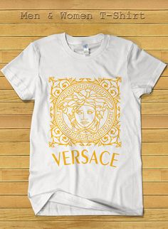 Versace Brand Fashion Tshirt for Women and Men Versace by TeeDays, $18.15
