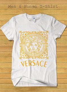 Versace Brand Fashion Tshirt for Women and Men Versace by TeeDays, $18.15