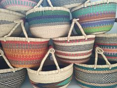 I will be adding these baskets to my store over the next few days.  Cheer up your home! Xx  #bolgabaskets #storagebaskets #eclecticstyle Scandi Style, Eclectic Style, Baskets On Wall, Storage Baskets, Basket Weaving, Hand Weaving, Beautiful Bags, Straw Bag, Cheer