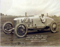 Harry Hartz-1920s AAA Racer | The Old Motor Vintage Racing, Vintage Cars, Antique Cars, Indy Car Racing, Indy Cars, Le Mans, Grand Prix, Race Cars, Indie