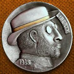 By Christian DeCamillis Italy Pictures, Hobo Nickel, Mens Glasses, Buffalo, Coins, Carving, Profile, Christian, Money