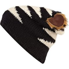 Black wild cat ears beanie hat - accessories - sale - women. Cute and only £3!!