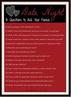 good questions for boyfriend