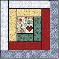 I'm making a log cabin quilt this fall for a friend's wedding gift. It will be my first quilt that I make from start to finish.