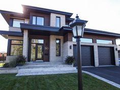 Fine 50 Trending Modern Home Design Exterior – architecture Design Exterior, Roof Design, Modern Exterior, Design Design, Design Case, Interior Design, Exterior Angles, Garage Design, Exterior Paint