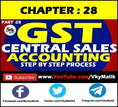 Chapter 20 : Tally Interstate Purchase Entry With GST Central States, Teaching, Learning, Education, Tutorials