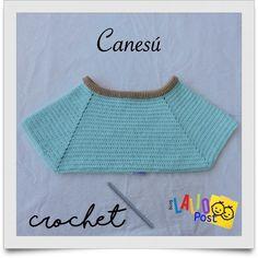 ¿Cómo hacer un canesú a crochet para todas las tallas? - Lalio Post Doll Clothes, Pullover, Crop Tops, Knitting, Sweaters, Stuff To Buy, Women, Lana, Fashion