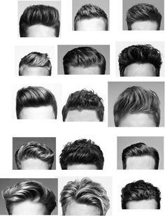 coupe de cheveux homme, beaucoup de variantes tendances dans le coupe de cheveux homme