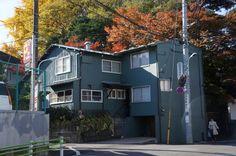 Old CUNNINGHAM House Tokyo, Japan 1954 Antonin RAYMOND