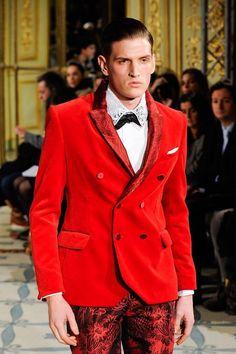 Red Velvet, the bolder texture for men