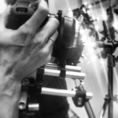 Behind the scenes -  a rare glimpse at Annemarieke van Drimmelen creating our Fall 13 film BEYOND THE CITY