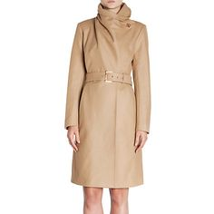 Buy Ted Baker Madigan Draped Front Coat Online at johnlewis.com MY ULTIMATE FAVOURITE