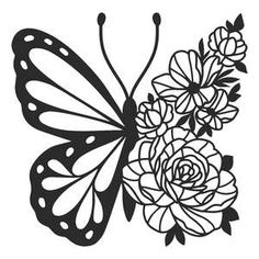 This design is intended to be cut with an electronic cutting machine. Silhouette Projects, Silhouette Design, Silhouette Cameo Disney, Silhouette Files, Cricut Craft Room, Cricut Vinyl, Butterfly Drawing, Cricut Creations, Fabric Painting