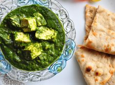 It is a tasty dish with good amount of vitamin A and folate from spinach and protein from paneer.