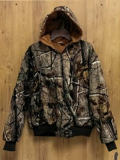 Walls RealTree reversible camo/camel hooded heavy coat - Jr Large – Jelly Beans Consignment & Boutique