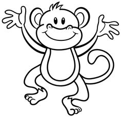 10 Mewarnai Gambar Monyet | bonikids