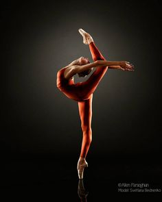 Svetlana Bednenko, Mikhailovsky Ballet - Photographer Allen Parseghian