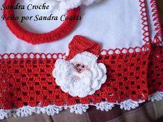 SANDRA CROCHE: PAPAI NOEL DE CROCHE