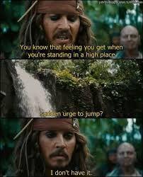 Kennt ihr das Gefühl wenn man an einer Klippe steht und springen  will? - Ich hab das nicht....