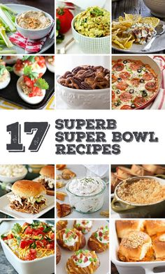 15 Delicious Super Bowl Recipe for the Big Game and just about any other party! From Pizza Dip to Pulled Pork, this recipe roundup is feature something for everyone!