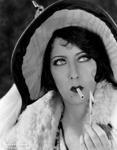 "Gloria Swanson en ""La Frágil Voluntad"" (Sadie Thompson), 1928"