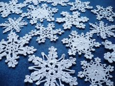 Hey, I found this really awesome Etsy listing at https://www.etsy.com/listing/166474361/white-snowflakes-crochet-snowflakes