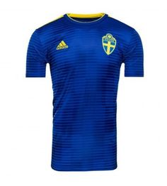Even more football kit news this evening as The Kitman has received a leaked image of the Sweden 2018 World Cup away shirt made by Adidas. World Cup Shirts, Classic Football Shirts, Gifts For Sports Fans, Soccer Shop, Football Kits, Youth, Polo Ralph Lauren, Boys, World Cup