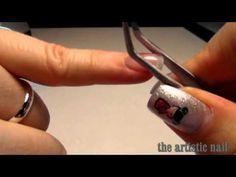 ▶ tutorial la bombatura,pinzatura gel uv (ricostruzione unghie) - YouTube