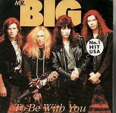 908●7' ジャケ付き Mr. Big / To Be With You!91年 希少です Paul Gilbert ミスタービッグ ポール・ギルバート Extreme More Than Words_画像1