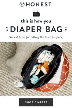 The Honest Company has diaper bags and diaper essentials that you'll be proud to give any expectant mom or new mother. It's not just a diaper bag, it's an accessory. Diaper Bag Essentials, Baby Safe, Baby Hacks, Baby Fever, Future Baby, Baby Toys, Kids Toys, Baby Shower Gifts, New Baby Products