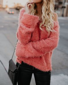 Rosey Road Sweater