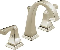 View the Delta 3551LF Dryden Widespread Bathroom Faucet with Pop-Up Drain Assembly - Includes Lifetime Warranty at Build.com.