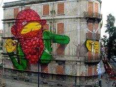 Gemeos em Lisboa