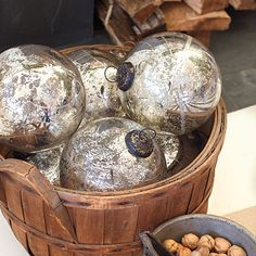 Diy mercury glass ornaments here we go well be making all your mercury glass ornaments get the look rustic casual christmas decorating ideas southern living solutioingenieria Gallery
