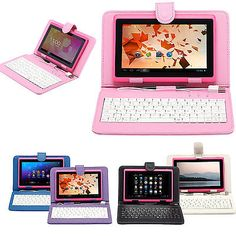 """iRulu 7"""" Google Android 4.0 Capacitive Pink Tablet PC 8GB Camera WiFi + Keyboard. Deal Price: $52.99. List Price: $85.31. Visit http://dealtodeals.com/irulu-google-android-capacitive-pink-tablet-pc-8gb-camera-wifi-keyboard/d14865/ipad-tablets/c32/"""