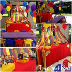 The Wiggles 2 year old birthday party. Styled and set up by Three Sweet Kisses. @three_sweet_kisses @thewiggles #thewiggles #kidsparty #childrensbirthday #thewigglesparty #brightcolours #candybuffet #candybuffetsydney #caketablesydney #balloons #lollies
