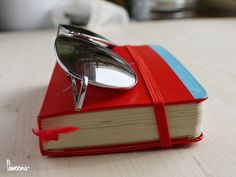 #datebook #sunglasses #red #book #glasses #timetable #fanoona