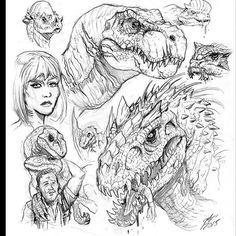 Jurassic World fanart