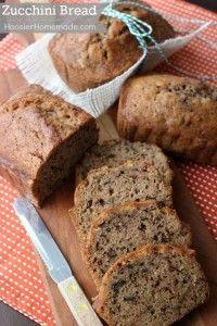Zucchini Bread Recipe | on HoosierHomemade.com