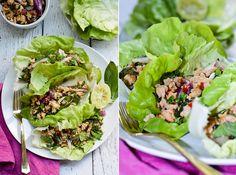 Thai Turkey Tuesday – My favorite Thai dish, Larb Gai, using Foster Farms Organic Ground Turkey  | FittyBritttty.com | @fosterfarms | #turkeytuesday