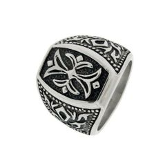 Men's Stainless Steel Casted Ring with Cross Amazon Curated Collection. $18.00. Made in China