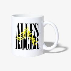 Alles Roger Home Deco, Mugs, Tableware, How To Make, Do Your Thing, Dinnerware, Tumblers, Tablewares, Home_decor